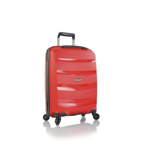 Heys Athena S Red palubní cestovní kufr na 4 kolečkách TSA 53 cm