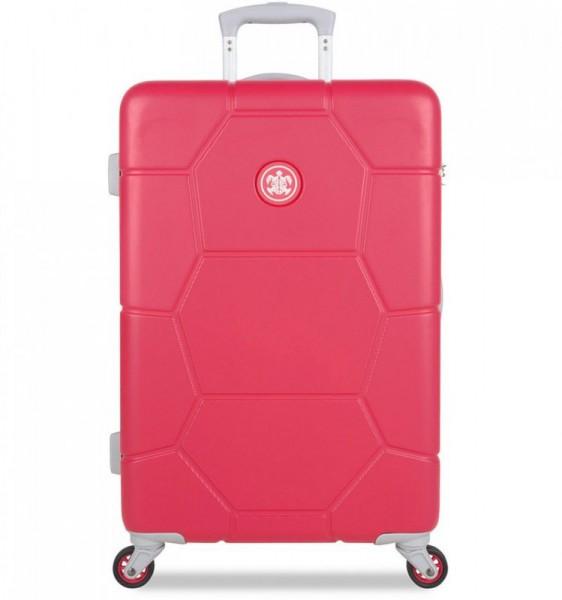SUITSUIT Caretta M Teaberry cestovní kufr na 4 kolečkách 65 cm