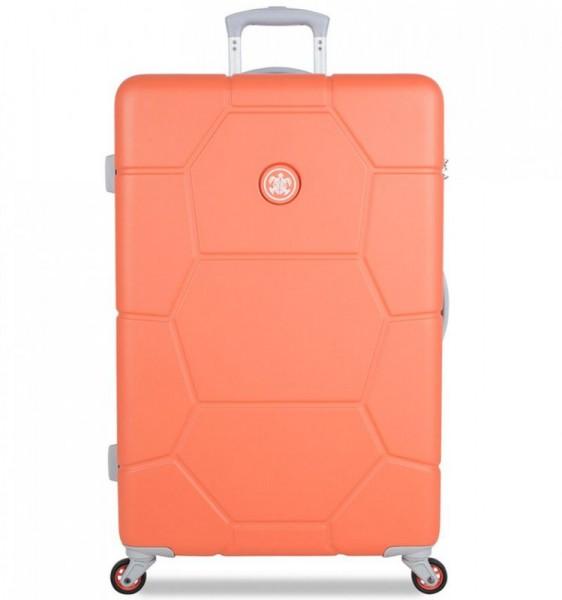 SUITSUIT Caretta L Melon cestovní kufr na 4 kolečkách 75 cm