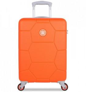 SUITSUIT Caretta S Vibrant Orange palubní kufr na 4 kolečkách 55 cm