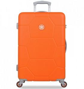 SUITSUIT Caretta M Vibrant Orange cestovní kufr na 4 kolečkách 65 cm