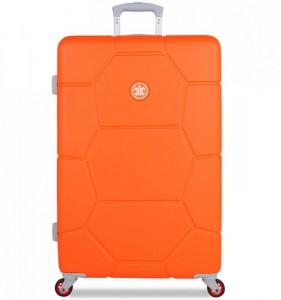 SUITSUIT Caretta L Vibrant Orange cestovní kufr na 4 kolečkách 75 cm