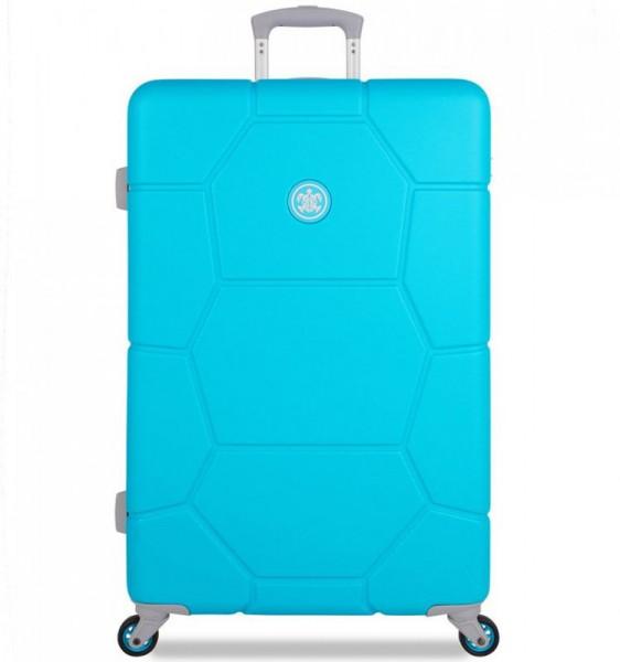 SUITSUIT Caretta L Peppy Blue cestovní kufr na 4 kolečkách 75 cm