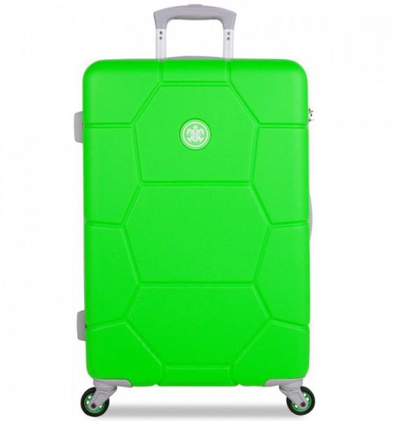 SUITSUIT Caretta M Active Green cestovní kufr na 4 kolečkách 65 cm