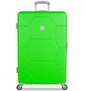 SUITSUIT Caretta L Active Green cestovní kufr na 4 kolečkách 75 cm