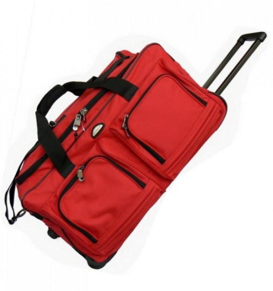 Member's TT-0005 Red cestovní taška na kolečkách 37x65x37 cm 85 l