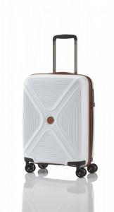 Titan Paradoxx 4w S White skořepinový palubní kufr na 4 kolečkách TSA 55x40x20 cm