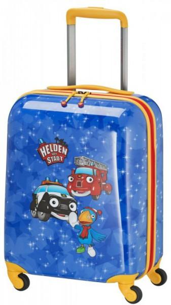 Travelite Heroes of the City 4w S Blue dětský cestovní kufr 47 cm