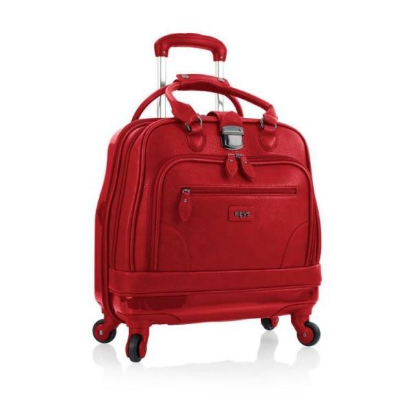 Heys Nottingham Executive Red hybridní business kufřík na 4 kolečkách 42 cm