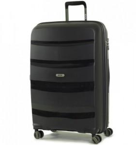 ROCK TR-0174 Torrance L Black cestovní kufr na 4 kolečkách TSA 75 cm