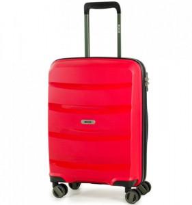 ROCK TR-0174 Torrance S Red palubní cestovní kufr na 4 kolečkách TSA 54x40x21 cm