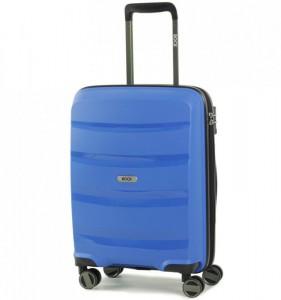 ROCK TR-0174 Torrance S Blue palubní cestovní kufr na 4 kolečkách TSA 54x40x21 cm