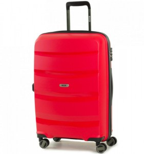 ROCK TR-0174 Torrance M Red cestovní kufr na 4 kolečkách TSA 65 cm