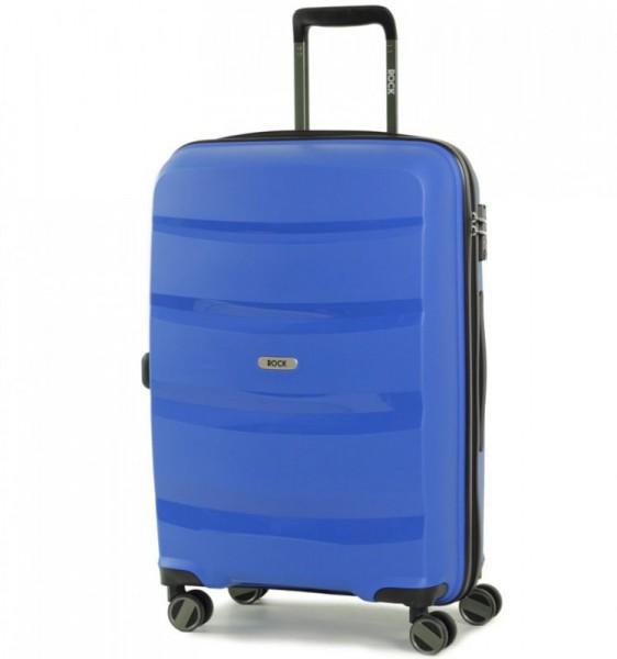 ROCK TR-0174 Torrance M Blue cestovní kufr na 4 kolečkách TSA 65 cm