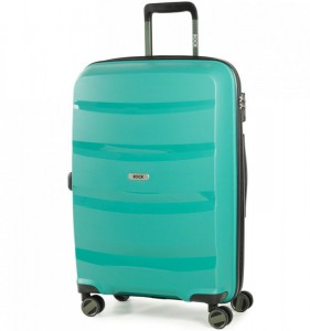 ROCK TR-0174 Torrance M Green cestovní kufr na 4 kolečkách TSA 65 cm