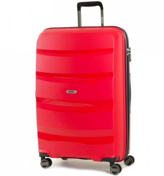 ROCK TR-0174 Torrance L Red cestovní kufr na 4 kolečkách TSA 75 cm