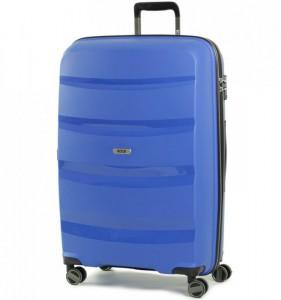 ROCK TR-0174 Torrance L Blue cestovní kufr na 4 kolečkách TSA 75 cm