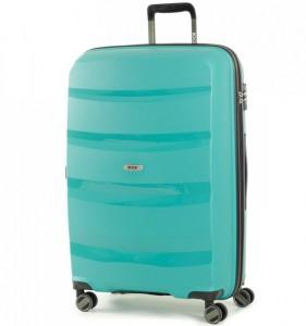 ROCK TR-0174 Torrance L Green cestovní kufr na 4 kolečkách TSA 75 cm