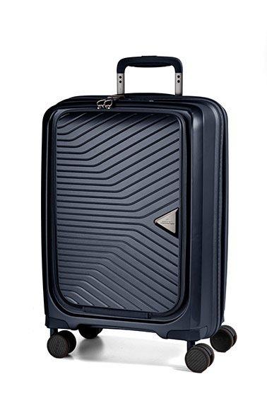 """March Gotthard Cabin Size Navy palubní kufr s kapsou na 15"""" notebook TSA 55 cm 2,6 kg"""