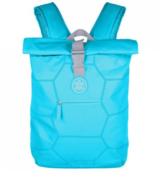 SUITSUIT Caretta Backpack roll-top batoh na notebook 15″ Peppy Blue 12 l