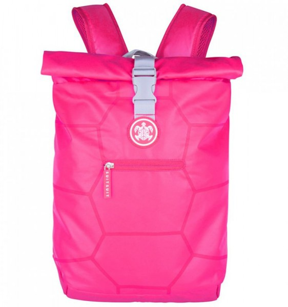 SUITSUIT Caretta Backpack roll-top batoh na notebook 15″ Hot Pink 12 l