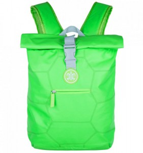 SUITSUIT Caretta Backpack Active Green městský roll-top batoh na 15″ notebook 12 l