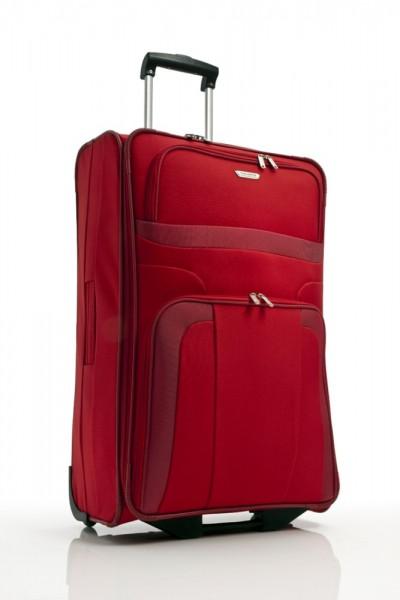 Travelite Cestovní kufr Orlando L Red