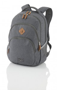 Travelite Batoh Travelite Basics Backpack Melange Anthracite 22 l