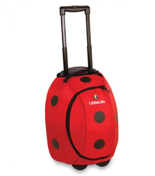 LittleLife Animal Wheelie Duffle – Ladybird