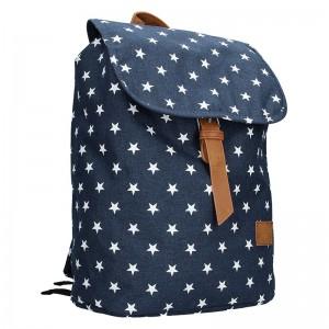 Trendy batoh New Rebels Star – modrá