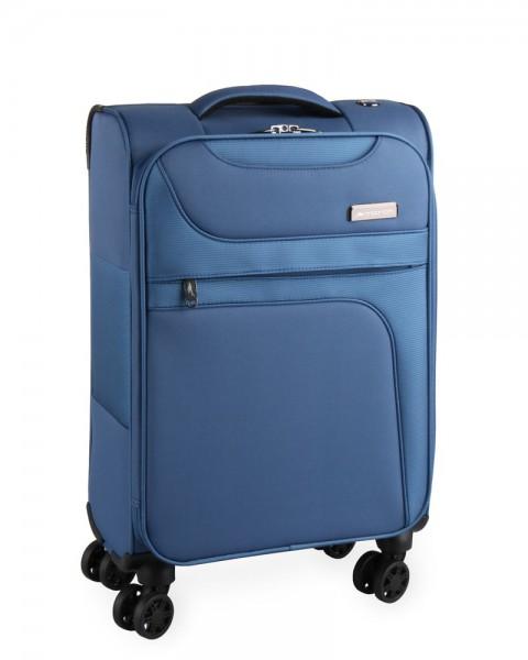 March Kabinový cestovní kufr Focus 34,5 l – světle modrá