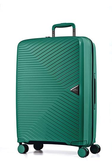 March Cestovní kufr Gotthard 111 l – zelená