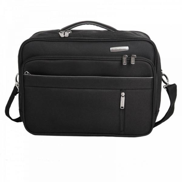 Travelite Capri Board Bag Horizontal Black palubní taška 38x28x19 cm 20 l