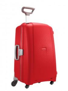 Samsonite Cestovní kufr Aeris Spinner D18 118,5 l – červená