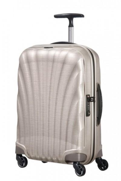 Samsonite Kabinový cestovní kufr Lite-Locked Spinner V22 36 l – světle béžová