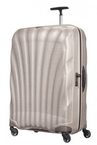 Samsonite Cestovní kufr Cosmolite Spinner V22 123 l – světle béžová