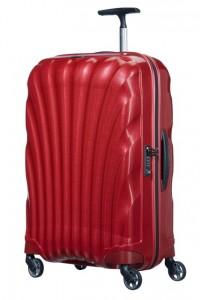 Samsonite Cestovní kufr Cosmolite Spinner V22 68 l – červená