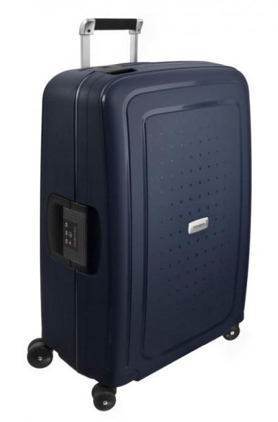 Samsonite Cestovní kufr S'Cure DLX Spinner U44 79 l – modrá