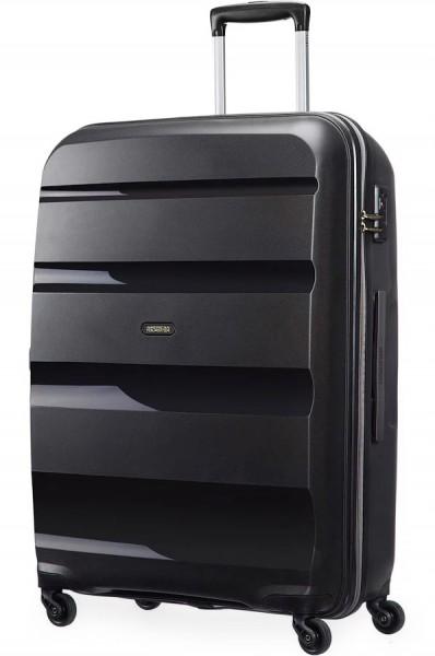 American Tourister Cestovní kufr Bon Air Spinner 85A 91 l – černá