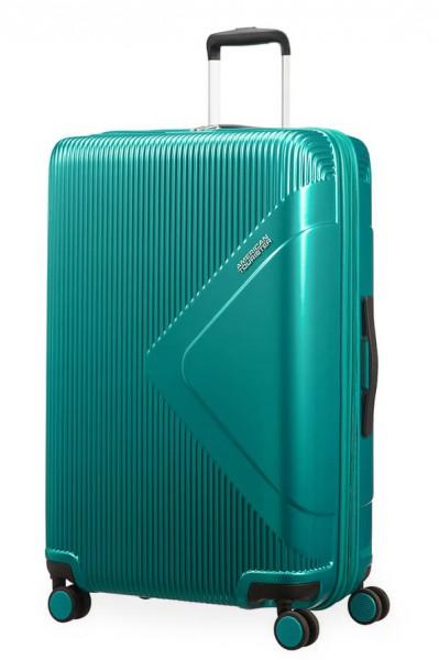 American Tourister Cestovní kufr Modern Dream EXP 55G 100/114 l – zelená
