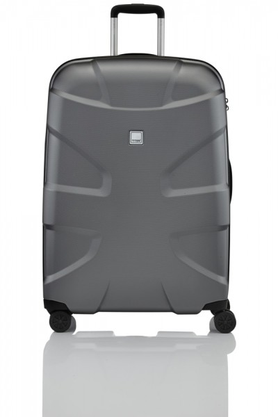 Titan Cestovní kufr X2 Shark Skin 4w L Gunmetal Shark 825404-02 103 l
