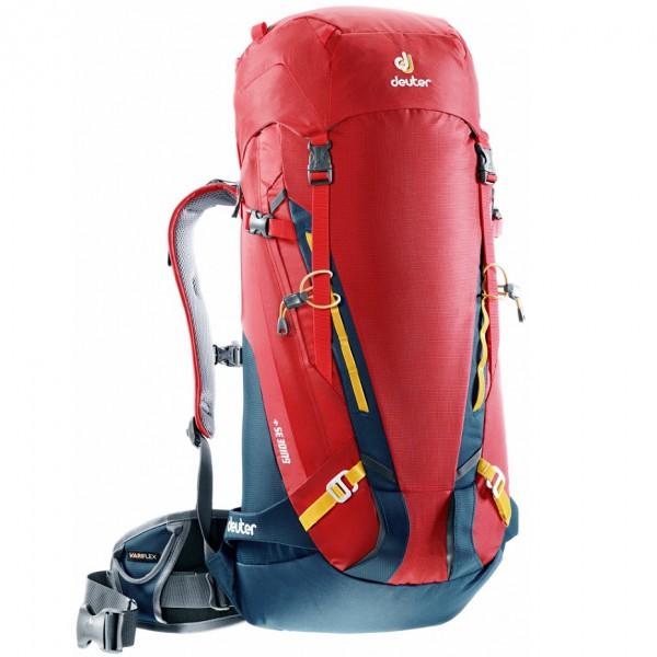 Horolezecký batoh DEUTER Guide 35+ červená