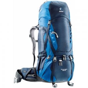 Expediční batoh DEUTER Aircontact 65 + 10 modrá