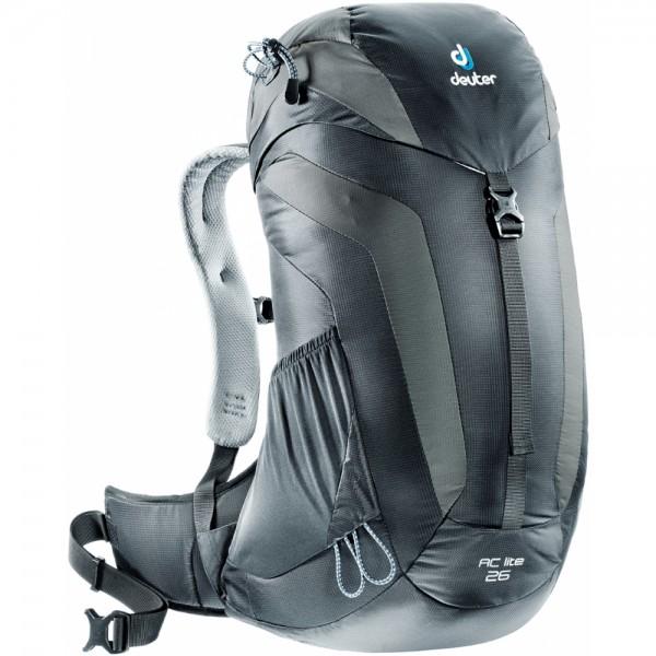 Turistický batoh DEUTER AC Lite 26 černo-šedá