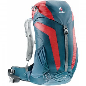 Turistický batoh DEUTER AC Lite 26 modro-červená