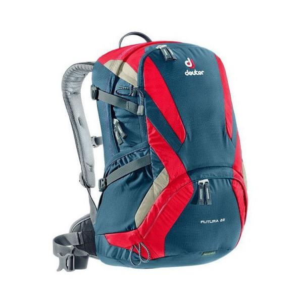 Turistický batoh DEUTER Futura 22 červeno-modrá