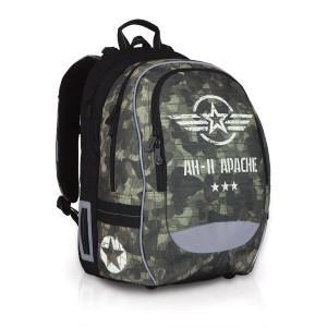 Školní batoh Topgal CHI 752 R – Khaki