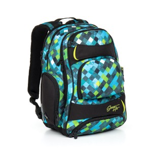 Studentský batoh Topgal HIT 869 E – Green