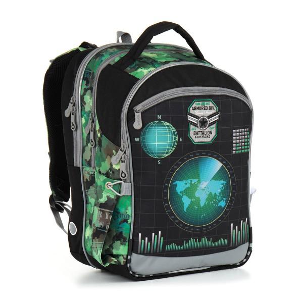 Školní batoh Topgal CHI 883 E – Green