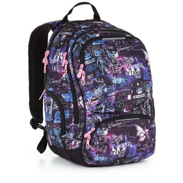 Studentský batoh Topgal HIT 889 I – Violet